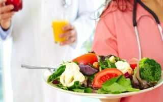 Лечебная диета при гастрите