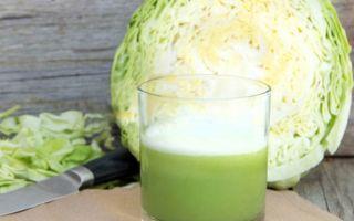Чем полезен капустный сок при гастрите