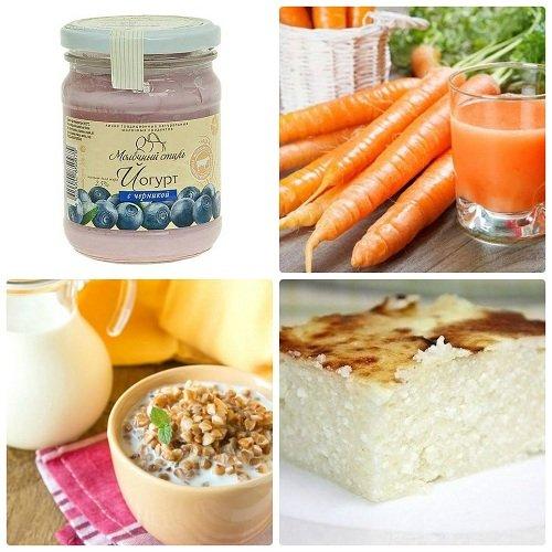 Какие продукты можно есть при гастрите