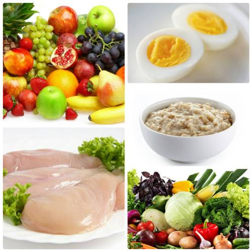 Продукты, входящие в диету при лечении гастрита