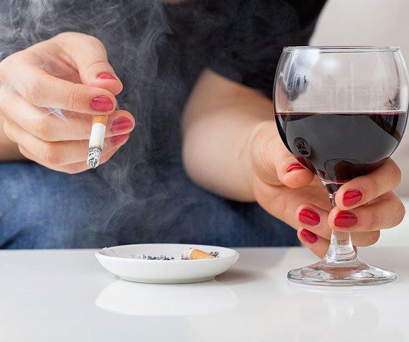 Алкоголь, курение провоцируют появление хронического гастрита