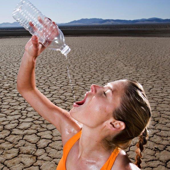 Сильная жажда при обострении гастрита