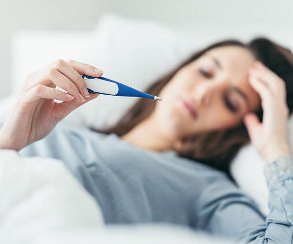 Повышенная температура тела - симптом антрального гастрита