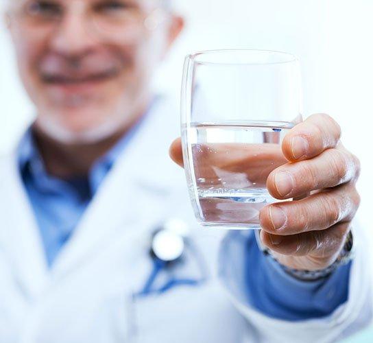 Употребление минеральной воды по предписанию врача