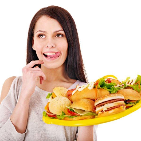 Неправильное питание вызывает гастрит