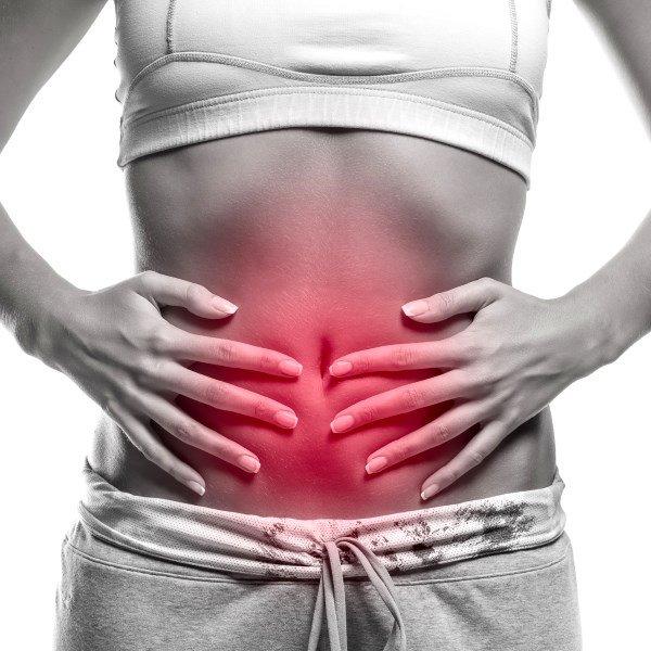 Боли в средней части живота - симптом очагового антрального гастрита
