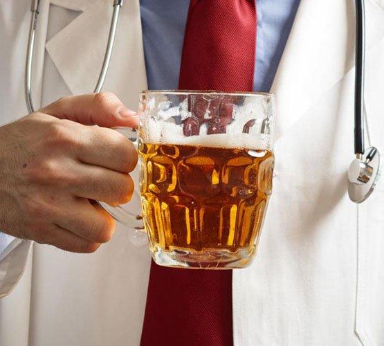 Мнение врачей о пиве