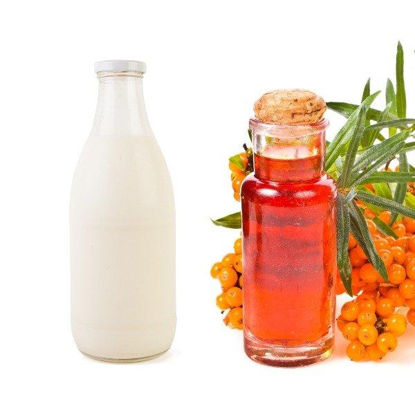 Облепиховое масло и молоко