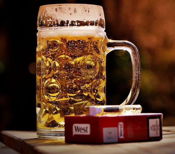 Алкоголь и курение - факторы повышения кислотности при хроническом гастрите
