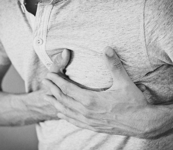 Нарушение работы сердца - симптом катарального гастрита