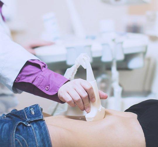 УЗИ брюшной полости - диагностика гиперпластического гастрита
