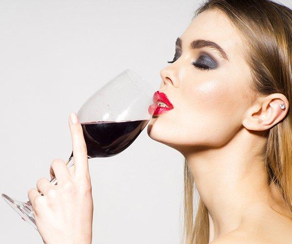 Употребление красного вина при гастрите