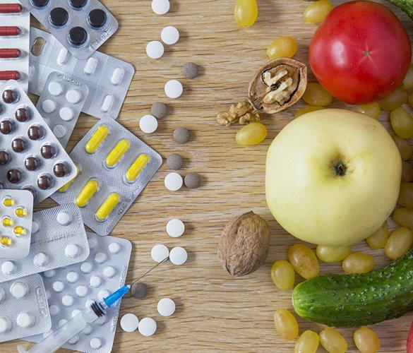 Диета и медикаментозное лечение