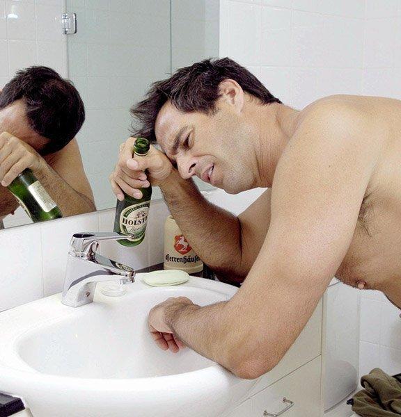 Тошнота от алкоголя в период ремиссии