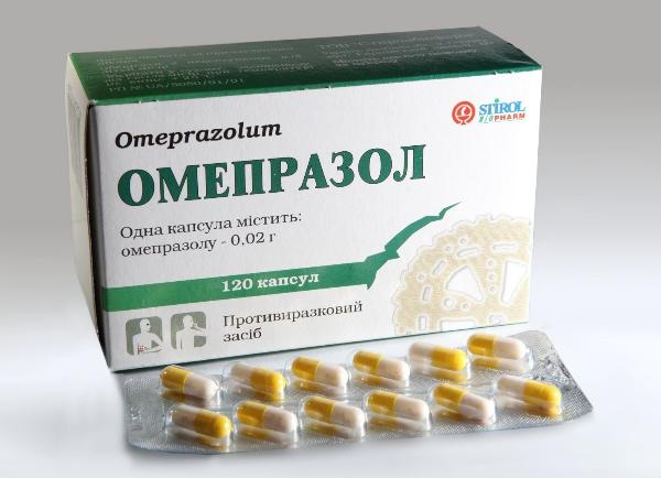 Лечение - омепразол