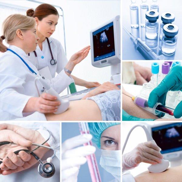 Дополнительно обследование, УЗИ, рентген, анализ крови