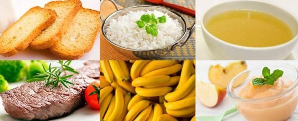 Питание при поносе, разрешенные продукты, меню на день, меню на неделю