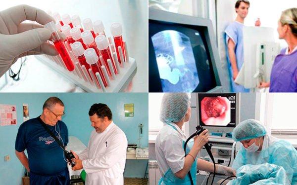 Основные диагностические манипуляции при изжоге